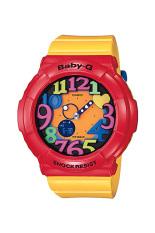 Casio Baby-G Women's Yellow Resin Strap Watch BGA-131-4B5