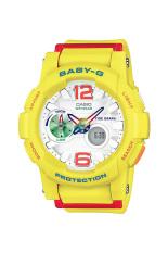 Casio Baby-G Women's Yellow Resin Strap Watch BGA-180-9B