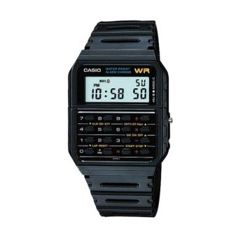 Casio CA-53W Jam Tangan Calculator - Hitam