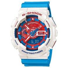 Casio G-Shock GA-110AC-7AJF Doraemon Series Men's Watch - White / Blue (White / Blue)