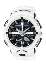 Casio G-shock GA-500-7 Synthetic Resin Men's Watch White (Free Size)