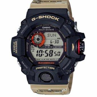 Casio G-Shock GW-9400DCJ-1 Tough Solar Power for Men Watch - intl
