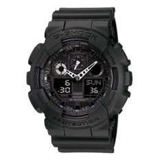 Casio G-Shock Jam Tangan Analog Digital GA-100-1A1DR - Tali Resin