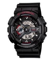 Casio G-Shock Jam Tangan Pria - Hitam - Strap Resin - GA-110-1A