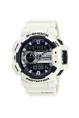 Casio G-Shock Men's GBA-400-7C Resin Strap Watch White