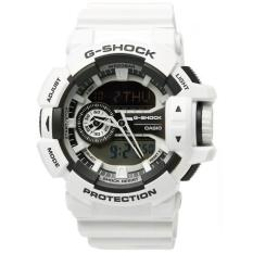 Casio G-Shock Men's Standard Analog Digital Watch (White) GA-400-7A (White)