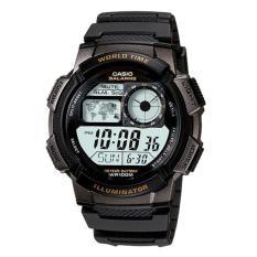 Casio Jam Tangan Digital AE-1000W-1AVDF - Tali Ressin - Black