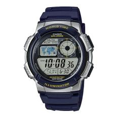 Casio Jam Tangan Digital Pria - AE-1000W-2AV - Navy Blue