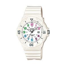 Casio LRW200H-7B Women's Diver Series Sports White Dial White Strap Date Watch