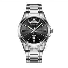 Casio mtp-1381l-1a kasual bisnis baja Shi Ying menonton laki-laki menonton jam tangan pria
