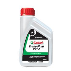 Castrol NON Engine Oil - Brake Fluid Dot 3 (0.5 Liter)