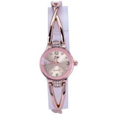 CatWalk Women Stainless Steel Quartz Bracelet Watch (Yellow)