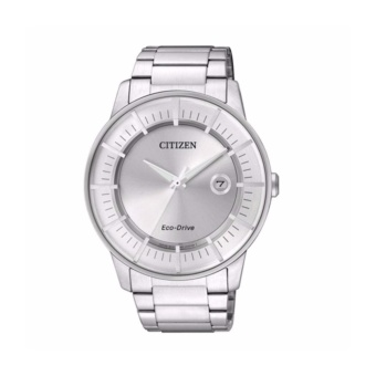Citizen AW1260-50A Solar Powered Silver Watch - intl