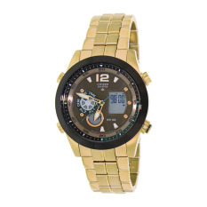 Citizen Watch PROMASTER Gold Stainless-Steel Case Stainless-Steel Bracelet Mens Japan NWT + Warranty JZ1002-56W
