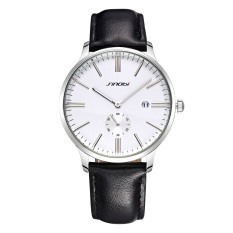 CITOLE 2015 New Nobby SINOBI When Men Watch Brand Personality Independent Small Seconds Dribbling Calendar (Intl)