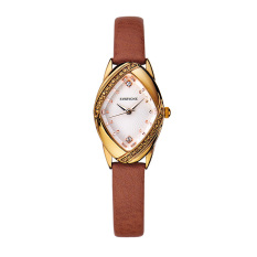 CITOLE A Love On Behalf Of 000 Everyone Korean Fashion Diamond Crown Leather Watchband Waterproof Quartz Watch
