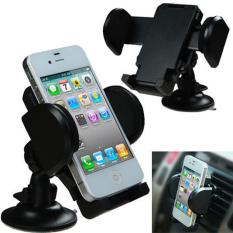 CITOLE Car Phone Mount Holder, Universal Windshield / Dashboard Car Mobile Phone Cradle 360 Degree Rotation for IPhone / Android Smartphone