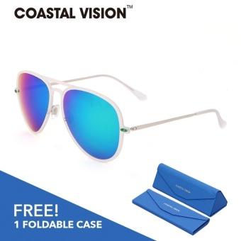 ... Aukey Pria Penerbang Kacamata Hitam Hd Kacamata Terpolarisasi Cermin Kaca Mata Pria