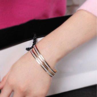 ... Manset Gelang Perhiasan Source Harga Dan Spesifikasi Cocotina 2 Buah Fashion Wanita Scrub Kilau Source Cocotina