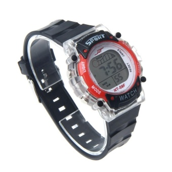 Colorful LED Electronic Sports Watch RD - intl