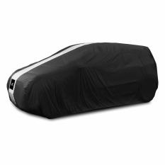 Cover Super Sarung Mobil Honda Jazz - Hitam/Putih
