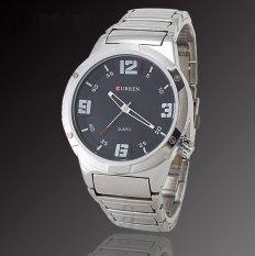 Curren 8111 Casual - Style Watch - Silver Putih