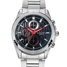 Cusepra Longbo Long Wave Business Simple Quartz Watch Stainless Steel Mens Watch Waterproof Wrist Watch On Behalf Of A Student