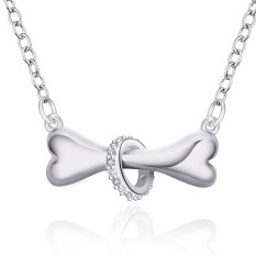 "Sunweb Hot Brand Fashion Popular Chain Necklace Jewelry Size 18"" White Color (Intl)"