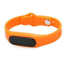 Cyber Hot Fashion Bluetooth 4.0 Smart Watch Wristwatch Support?For Android / IOS Waterproof Touch Control Sports Bracelet (Orange)