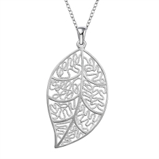 Sunweb The Soul Of A Fall Nickel Lead Free Silver Plated Pendant For Gift For Lady (Intl)