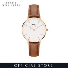 Daniel Wellington Classic Petite Durham White Watch 32mm-Rose Gold