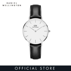 Daniel Wellington Classic Petite Sheffield White Watch 32mm-Silver