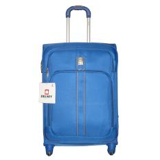Delsey Linea Koper Soft Case 65 cm - Biru - Gratis Pengiriman JABODETABEK
