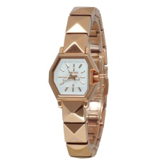 Diesel Female White Dial & Rose Gold Strap DZ5350