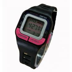 Digitec DG 3026 Digital Hitam Pink Jam Tangan Wanita - Digital - Full Rubber