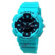 Digitec - DG2065L - Jam Tangan Wanita - Strap Karet - Hijau