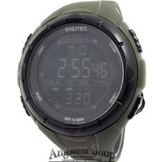 Digitec Dg3019 - Jam Tangan Olahraga Pria - Digitec - Original Design Sunnto - Rubber (Green)