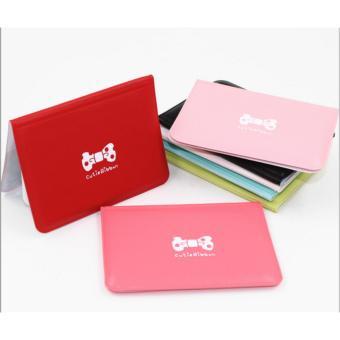 Dompet kartu mini warna warni ribbon import korea lucu murah