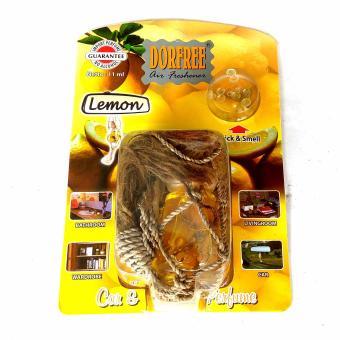 Dorfree Parfum Mobil - Pengharum Ruangan - Pengharum Mobil Aroma Lemon