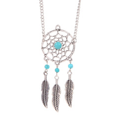 Dreamcatcher Bracelets Leaf Bohemian Alloy Vintage Friendship Jewelry
