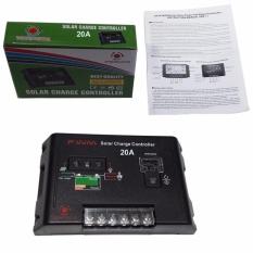 EELIC SCC-2430 -20A Solar Charge Controller Panel Battery Regulator 12V/24V