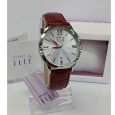 Elle Spirit - Jam Tangan Wanita - Leather Strap