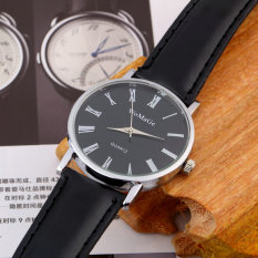 ERA NEW Fashion Classic Design Quartz Ladies Fashion Wrist Watch Women Leather (Black) - Intl