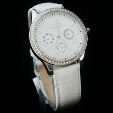 Esprit 106562 Leather Strap Putih