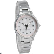 Esprit - Jam Tangan Wanita - Stainless Steel - Silver - ES108622001