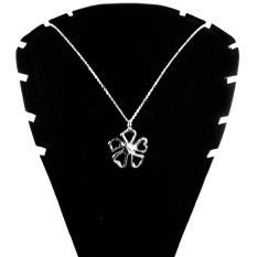 Evrell Kalung Silver Fashion Necklace Flower Pendant