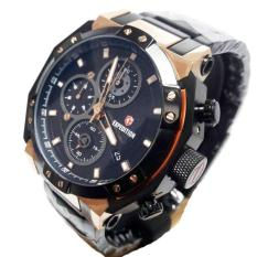 EXPEDITION-E-6385-Stainless stell - Hitam Rose Gold