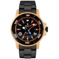 EXPEDITION Sea Walker - Jam Tangan Pria - Hitam - Stainless Steel - 1176FXE
