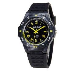 Fashion High-grade Quartz Watch Couple Watch Yellow