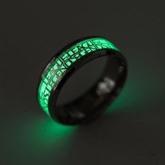 Fashion Noctilucence League of Legends Ring Stainless Steel Ring US Size 11 -With Gift Box - intl